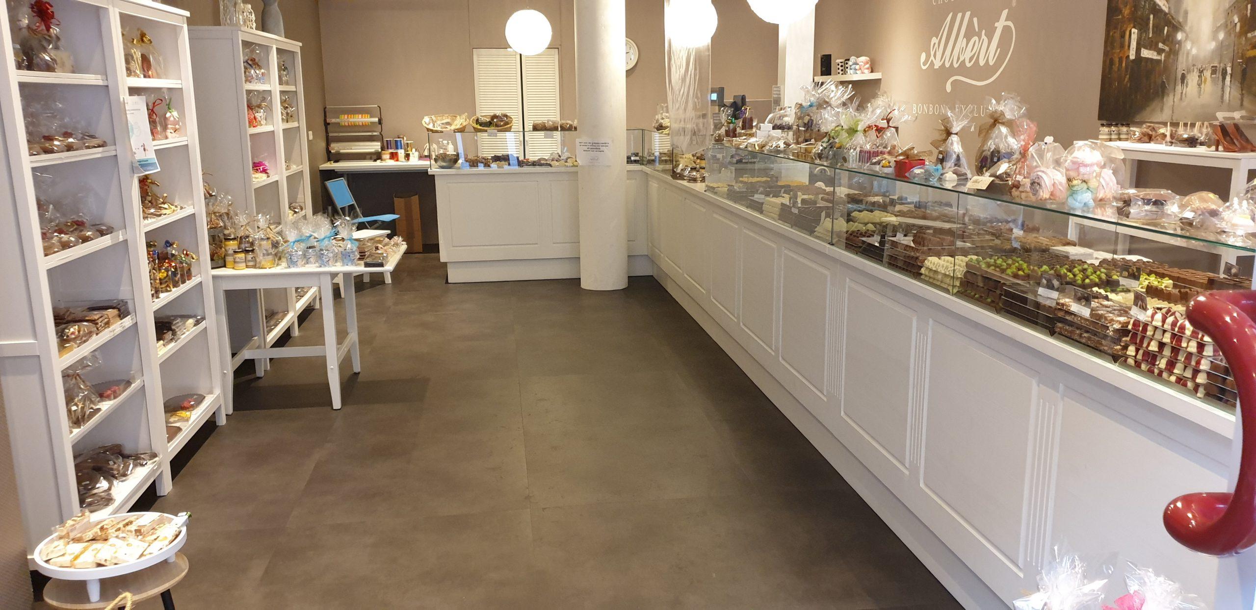 Chocolaterie Albert Barendrecht winkel