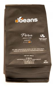 SINGLE ORIGIN Peru koffiebonen