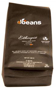 Single origin ethiopie koffiebonen